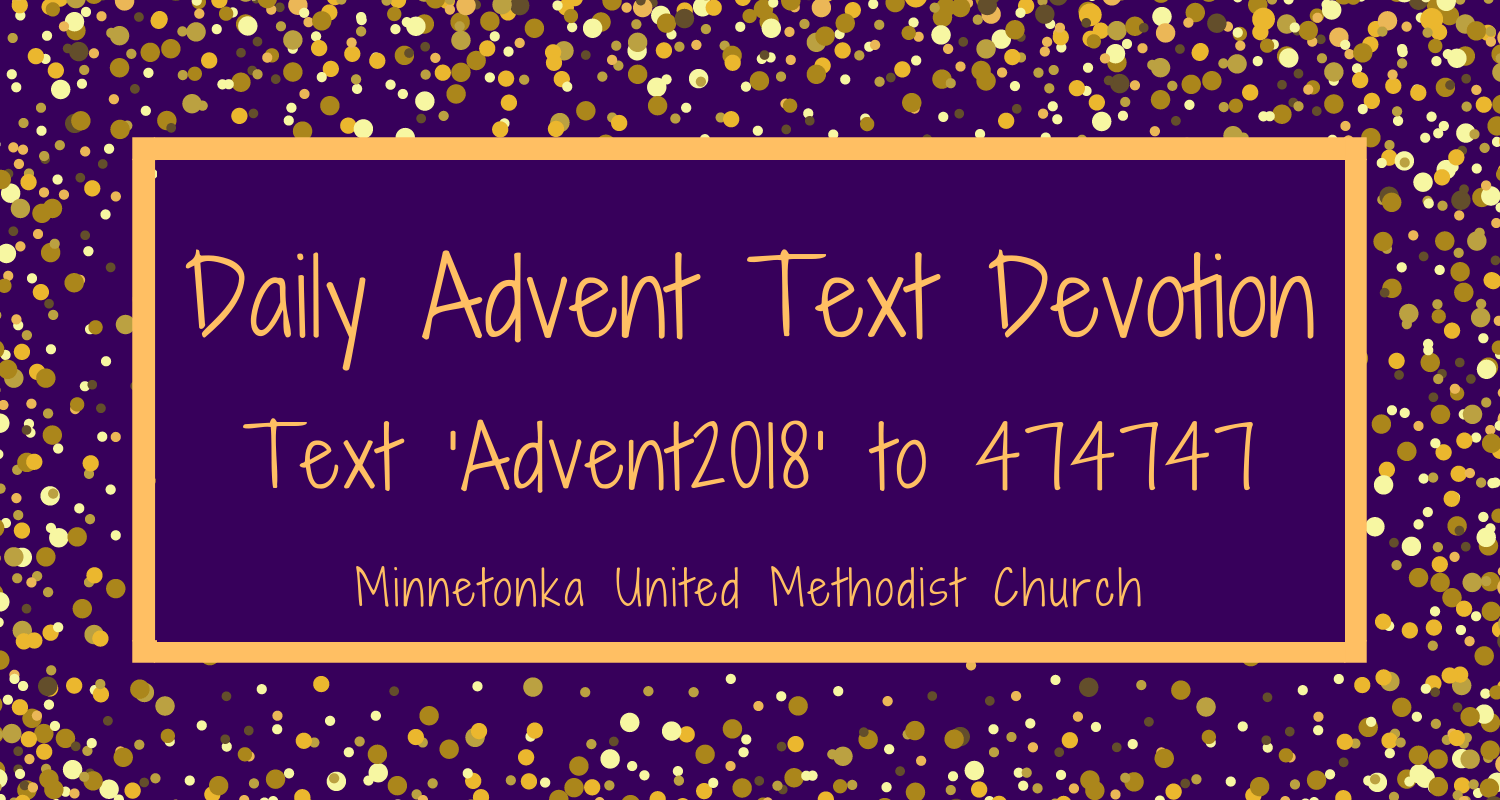 Daily Advent Text Devotion